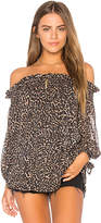 Beach Riot Rose Top in Brown. - size M (also in S,XS)