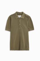 Maison Margiela Piquet Slim Fit Polo Shirt