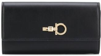 Salvatore Ferragamo Lock Detail Wallet