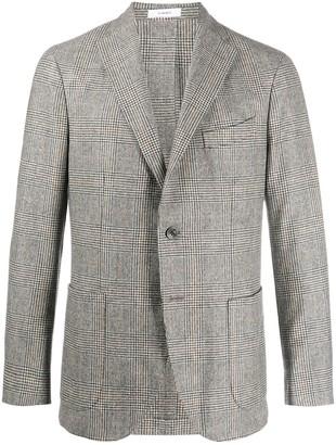 Boglioli Prince of Wales check wool blazer