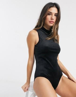 Lingadore Sleeveless Velvet Bodysuit