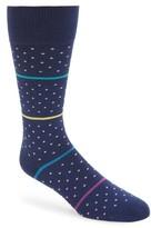 Paul Smith Men's Stripe & Dot Socks