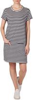Skin and Threads CM Stripe Dress Navy