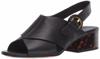 Vince womens Buckle Heeled Sandal