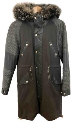 Paul & Joe Grey Fox Coat for Women