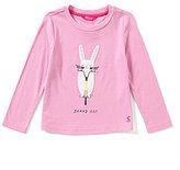 Joules Little Girls 3-6 Rava Bunny Hop Rabbit-Appliqued Jersey Top