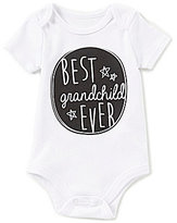 Baby Starters Baby Boys 3-12 Months Best Grandchild Ever Short-Sleeve Bodysuit