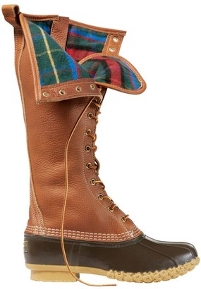 "L.L. Bean Women's Limited-Edition Bean Boots, 16"" Flannel-Lined"