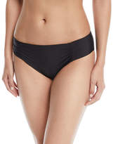 Athena Hey There Shirred-Side Hipster Swim Bikini Bottom