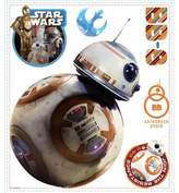 """Star Wars Disney® Star WarsTM """"The Force Awakens"""" BB-8 Peel and Stick Wall Decals"""
