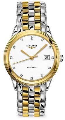 Longines Flagship Stainless Steel Diamond Bracelet Watch