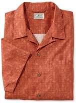 L.L. Bean Tropics Shirt, Short-Sleeve Print
