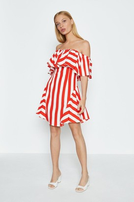 Coast Stripped Bandeau Summer Dress