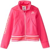 adidas Jogger Jacket (Toddler/Kid) - Bright Pink-2T