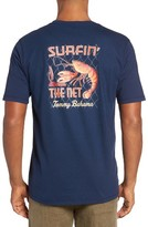 Tommy Bahama Men's Big & Tall Surfin The Net T-Shirt