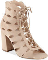GUESS Women's Owina Cutout Lace-Up Dress Sandals