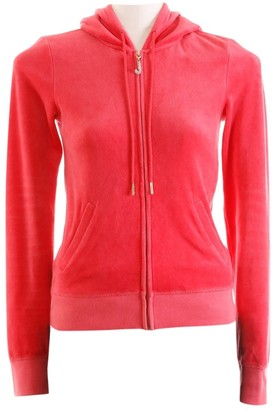 Juicy Couture Pink Cotton Jacket for Women