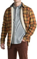 Timberland Fleece-Lined Flannel Shirt Jacket - Long Sleeve (For Men)