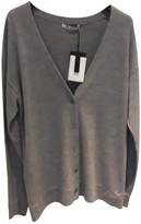 Alexander Wang Grey Wool Dress for Women