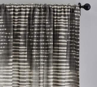 Pottery Barn Shibori Diamond Curtain