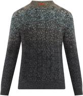Missoni Ombré crew-neck wool-blend sweater
