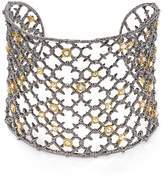 Alexis Bittar Elements Crystal Studded Spur Lace Cuff