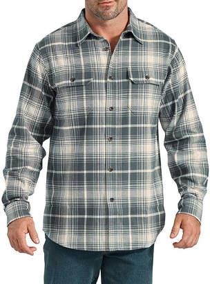 Dickies Heavyweight Long Sleeve Flannel Shirt