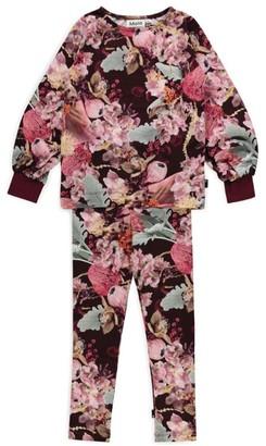 Molo Winter Bouquet Trylee Pyjama Set (2-14 Years)
