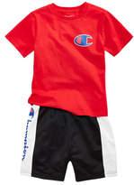 Champion 2-Pc. Heritage T-Shirt & Colorblocked Shorts Set, Toddler Boys