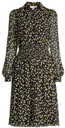 MICHAEL Michael Kors Tossed Lillies Dress