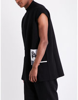 Rick Owens Drkshdw Felpa Collage-print Cotton-jersey Jumper