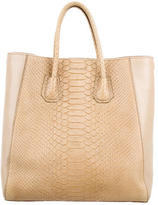 Givenchy Python-Trimmed Tote Bag