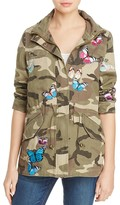 Aqua x Maddie & Tae Camo Butterfly Patch Anorak - 100% Exclusive