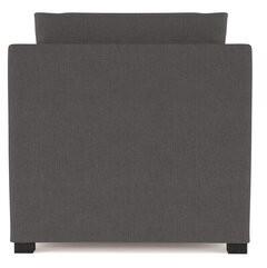 Brayden Studio Leedom Linen Chaise Lounge Upholstery Color: Stone