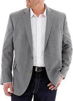 JCPenney Stafford Executive Hopsack Blazer-Big & Tall