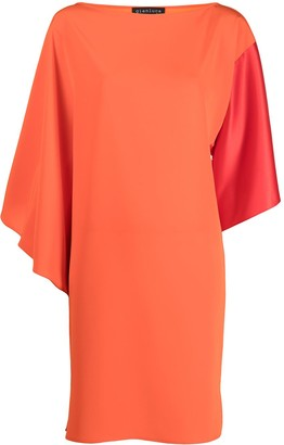 Gianluca Capannolo Colour-Block Draped Dress
