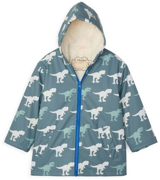 Hatley Little Boy's & Boy's T-Rex Sherpa Coat