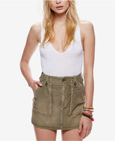 Free People Cotton Mini Skirt