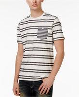 American Rag Men's Stripe Cotton T-Shirt, Only at Macy's