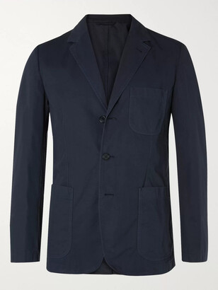 Aspesi Samuraki Slim-Fit Unstructured Cotton Blazer