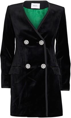 Racil Laura Velvet Mini Blazer Dress