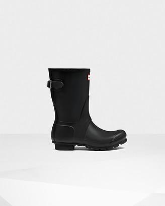 Hunter Women's Original Short Back Adjustable Wellington Boots