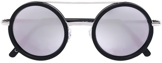 Andy Wolf Round Aviator Sunglasses