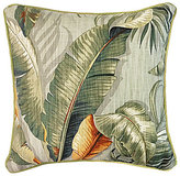 Veratex Key Largo Palm Frond Square Pillow