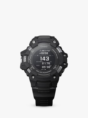 Casio GBD-H1000-1AER Men's G-Shock Heart Rate Monitor Watch, Black