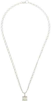 FARIS Silver Gem Necklace