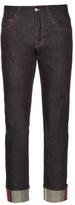 Gucci Slim-leg Turn-up Jeans