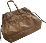 Prada Grey Leather Handbag