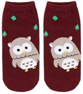 Forever 21 FOREVER 21+ Owl Graphic Ankle Socks