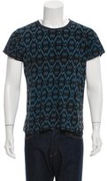 Dries Van Noten Short Sleeve Abstract T-Shirt